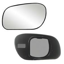Fits Crown Victoria, Grand Marquis Driver Side Mirror Glass With Back Plate