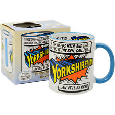 Yorkshireman Mug. Yorkshire Superman Super Hero Coffee Tea Cup Gift for Him