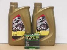Agip ENI I-Ride 5W-40 4T Öl / Ölfilter Piaggio MP3 400 / 500 alle  Bj 07 - 14
