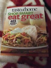Taste Of Home Shop Smart Eat Great Paper Back Cookbook 2012