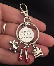 Wizard of Oz Keyring House Warming Gift There's No Place Like Home New Home Toto