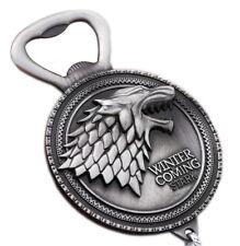 Game of Thrones Flaschenöffner und Schlüsselanhänger Silber