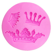 Crowns Silicone Cake Topper Mould - Ideal for Chocolate, Fondant, etc.