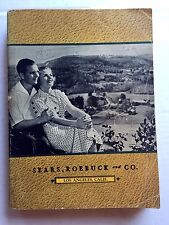 1937 Sears Roebuck Co Catalog Clothes, Furniture, Tools, Appliances