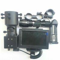 Vision Nocturne Caméra Télescope IR Écran d'affichage de Torche Chasse