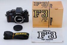 RARE!! TOP MINT+++in Box No.8520874,Nikon F3/T HP 35mm SLR Film Camera Black*JP*