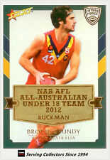 2012 Select AFL Future Force Cards All Australia Team Card AA10 Brodie Grundy