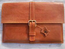 """Leder Laptop Tasche für MacBook Pro 13"""" Hülle Tragetasche echt Leder Handgemacht"""