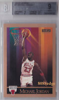 1990-91 SKYBOX BASE CARD: MICHAEL JORDAN #41 BGS 9 W/ 10 PERFECT CENTERING MINT