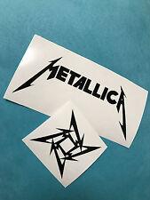 Metallica Sticker Set Aufkleber Car Window Bumper Laptop Vinil 176