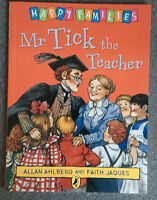 Mr Tick the Teacher by Allan Ahlberg Paperback Book Happy Families Children 2008