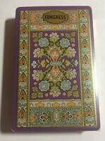 Vintage CONGRESS purple Deck Playing Cards