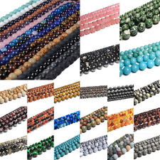 Round Loose Spacer Beads For Bracelet Jewelry Making DIY 4mm 6mm 8mm 10mm