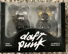 BE@RBRICK 100% DAFT PUNK Random Access Memories Ver. Set lot of 2 Rare Bearbrick