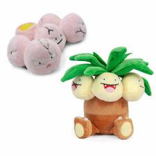 Set of 2 Pokemon Exeggutor and Exeggcute Soft Plush Dolls Stuffed Figure Toys