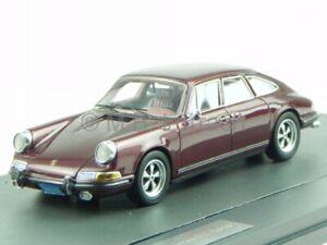 Porsche 911 Sedan 4-door brown 1972 resin model car Matrix 1/43