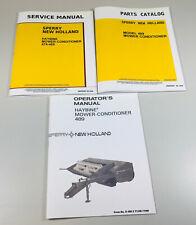 New Holland 489 Haybine Mower Conditioner Service Parts Operators Manual Set