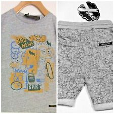 The Simpsons* Finger in The Nose  (8) Youth Short & Tee with Graphic Print, NWT*