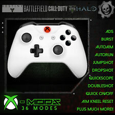 XBOX ONE RAPID FIRE CONTROLLER - BEST MOD ON EBAY!! White - Red LED Blackout