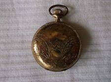 VINTAGE WALTHAM HUNTER CASE POCKET WATCH 1897 - RUNS