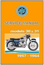 AJS Workshop Manual Models 31 31CSR 31CS 1957 1958 1959 1960 1961 1962 1963 1964