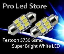 31mm Festoon High Power 5730 6 SMD LED LIGHT BULB INTERIOR