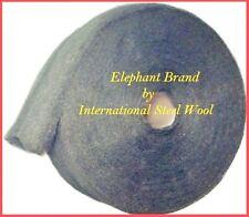 10 lb Case Steel Wool Rolls, Grade #0 MEDIUM FINE