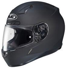 HJC CL-17 Motorcycle Helmet Matte Black L LG Large Snell M2015