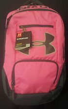 """Under Armour UA Storm Relentless Unisex Backpack Bag with 15"""" Laptop Sleeve Pink"""