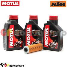 KIT TAGLIANDO OLIO + FILTRO MOTUL 7100 10W60 3L KTM 950 ADVENTURE 2004