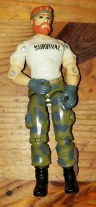 Vintage GI Joe Action Figure 1987 Outback