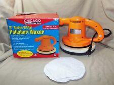 "Chicago Electric 10"" Random Orbital Polisher / Waxer w One Mat Hardly Used 7712"