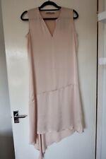 ALLSAINTS Womens Elie Dress Eggshell Pink Size 10 RRP £148 BNWT