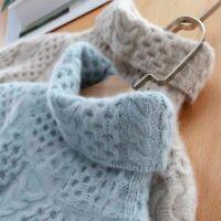 Womens Warm Wool Sweater Knitted Cashmere Turtleneck Jumper Stretch Knitwear Top