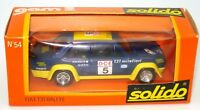 SOLIDO VINTAGE NO. 54 1/43 FIAT 131 RALLYE -  MINT BOXED