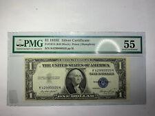 1935E $1 Note Fr#1614 KH PMG AU55