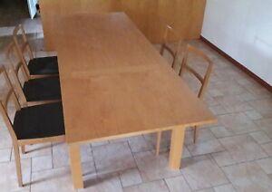 Tavoli In Betulla Per La Cucina Acquisti Online Su Ebay