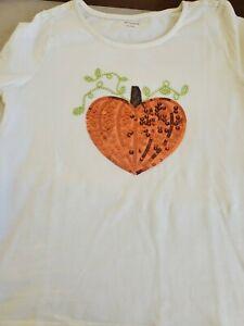 Gymboree Long Sleeve Pumpkin Shirt Top Sz 10