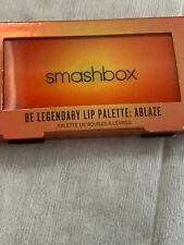 Smashbox Be Legendary Ablaze Lip Palette NEW NIB