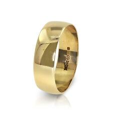 9 Oro Giallo 5.8 Mm Fede Nuziale - Misura O1/2 (00386)
