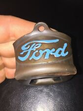Ford Motors Beer Bottle Opener Antique Style Patina Finish Gorgeous Solid Metal
