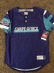 Europe-Africa Replica Little League World Series Fan Jersey 2019 YL New WithTags