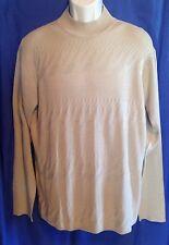 Wilke-Rodrigues Sweater Cardigan 100% Silk Shirt Mans Size L EUC