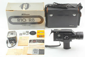 Nikon R10 Super 8mm Film Movie Camera w/ Case From JAPAN * For Parts *