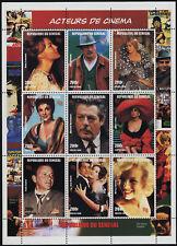 Senegal 1347 MNH Actors & Actresses, Monroe, Sinatra, Dean Martin, Loren