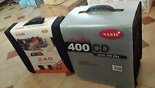 Lotto Stock 2 valigia porta cd dvd wallet custodie box custodia  240 e 400 posti