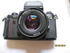 Nikon F3hp with 50mm f1.8 lens