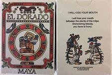 El Dorado Maya Color Playing Cards Poker Size Deck MPC Custom Limited Edition