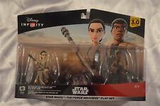Disney Infinity 3.0 Star Wars The Force Awakens Play Set New Sealed Rey Finn