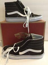 Vans Mens SK 8 Hi Skate Shoes Size 12 Medium Black New